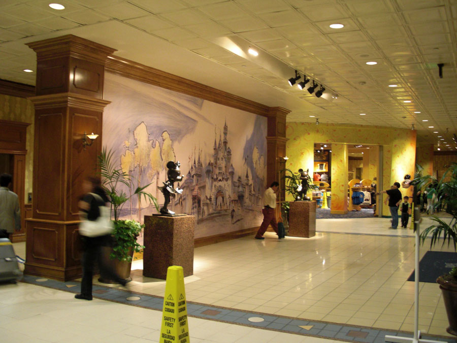 2.ディズニーホテル玄関