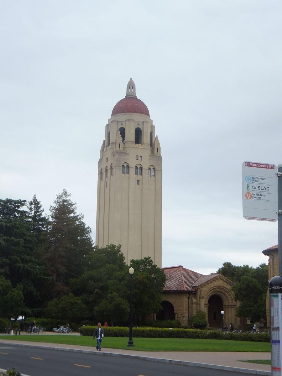 7.スタンフォード大学内のフーバータワー