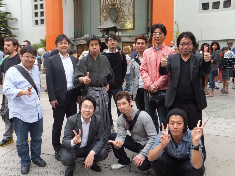 8.ハリウッド チャイニーズシアター (2)