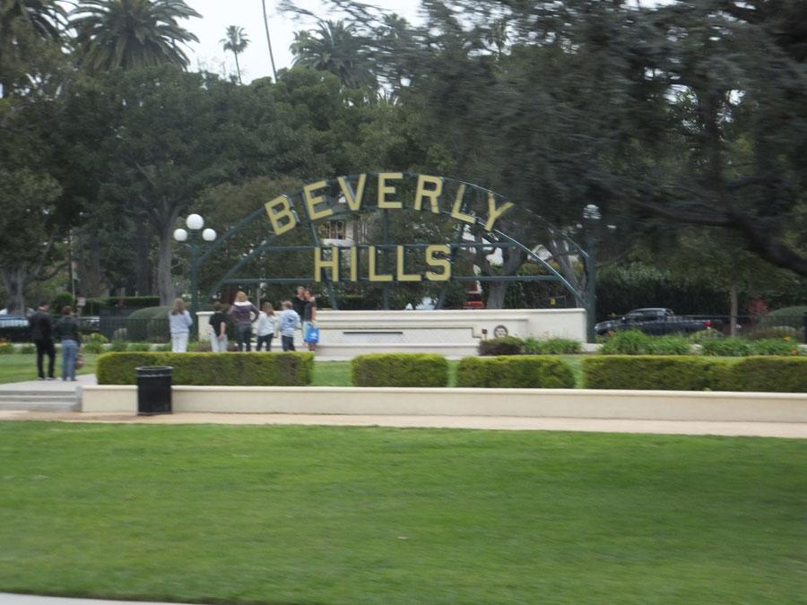 8.ハリウッド近くのビバリーヒルズ