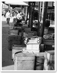 昭和40年ごろの近鉄駅ホーム
