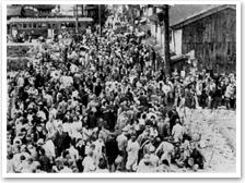 昭和20年代の闇市時代